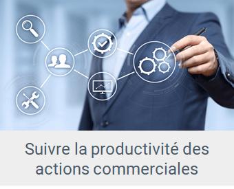 Lien Suivre la productivité des actions commerciales