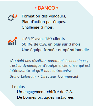 Actions clients Banco