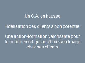 Résultats Fidéliser ses clients et développer le CA