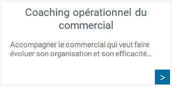 Efficacité commerciale - Coaching opérationnel du commercial
