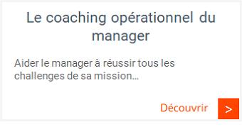 Management commercial - Coaching opérationnel du manager