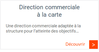Management commercial - Direction commerciale à la carte