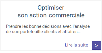 Formations - Optimiser son action commerciale