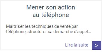 Formations - Mener son action au téléphone