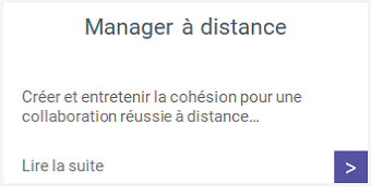 Formations - Manager à distance