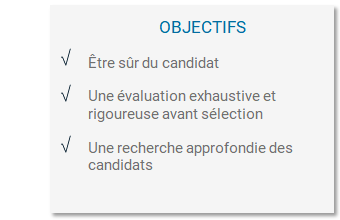 Objectifs Recruter vos collaborateurs