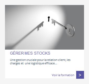Gérer les stocks
