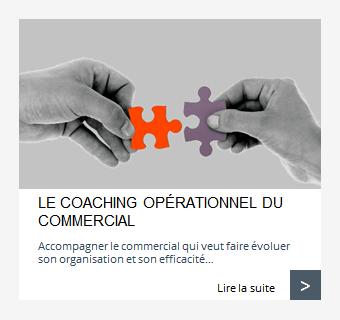 Coaching opérationnel du commercial
