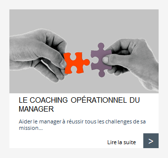 Coaching opérationnel du manager