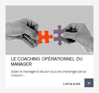 Coaching opérationnel du manager