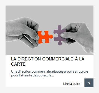 La direction commerciale à la carte