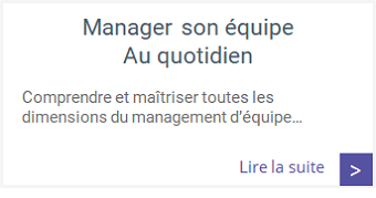 Formations - Manager son équipe