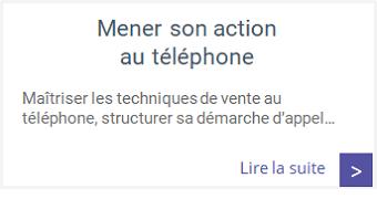 Formations - Mener une action efficace au téléphone