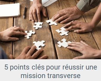 Lien article Réussir une mission transverse