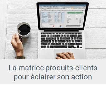 Lien article La matrice produits-clients pour éclairer vos décisions